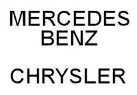 Mercedes Benz / Chrysler Logo
